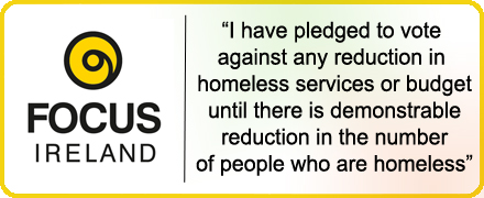 Homeless Pledge Badge